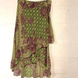 Evan Picone size 10 skirt floral great condition